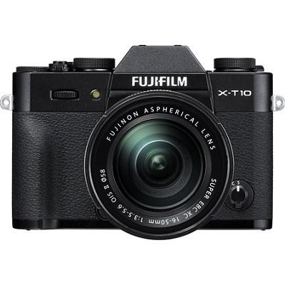 X-T10 Mirrorless Black Digital Camera with XC16-50mm F3.5-5.6 OIS II Lens