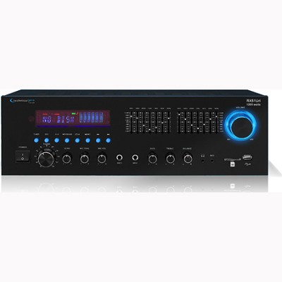 RX51URI - Professional Receiver USB/SD Card Inputs Built-in Seven Band Equalizer