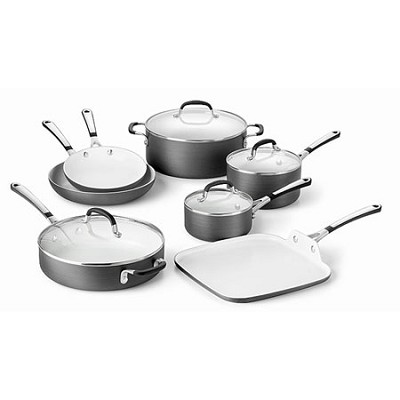 11-pc. Ceramic Nonstick Cookware Set - 1882025