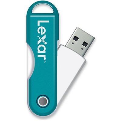 JumpDrive TwistTurn 16 GB High Speed USB Flash Drive (Teal)