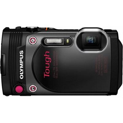 TG-870 Tough Waterproof 16MP Black Digital Camera w/ AF Lock/ 3` LCD - OPEN BOX