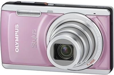 Stylus 7040 14MP 3.0` LCD Digital Camera (Pink)