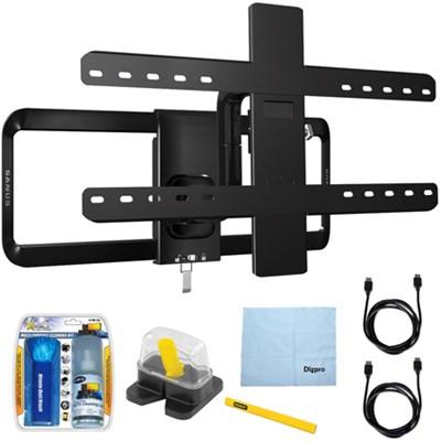 51`-70` Premium Series Full-motion TV Wall Mount/10-95 w/ Accessories Kit