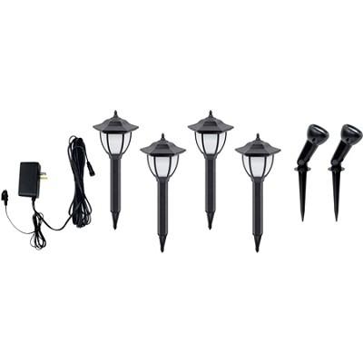 LED Low Voltage Landscape Lights - 6 Pack