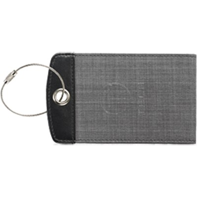 T-Tech Bifold Luggage Tag, Charcoal