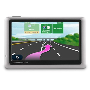 Nuvi 1450 GPS Navigation System with 5` LCD Screen (Refurbished) - OPEN BOX