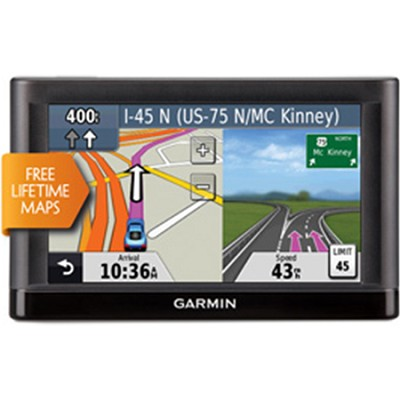 nuvi 52LM 5.0` GPS Navigation System with Lifetime Map Updates