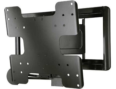 Super Slim Full Motion Wall Mount For 26` - 47` TVs, Extends 8` - VMF408