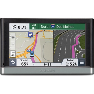 nuvi 2577LT 5` Bluetooth GPS with Lifetime Traffic Updates North America, Europe