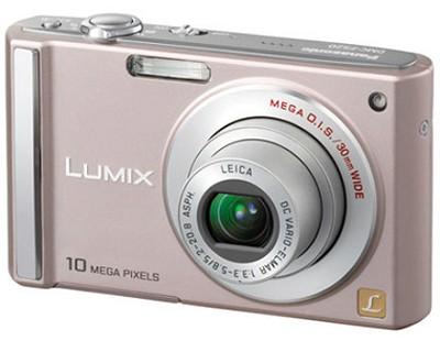 DMC-FS20 (Pink) 10 Megapixel Digital Camera w/ 3-inch LCD & 4x Optical Zoom