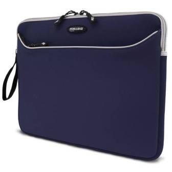 MESS315 Neoprene SlipSuit for Laptops up to 15.4` ( Navy w/Platinum Trim)
