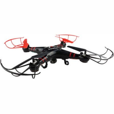 XFlyer 6 Axis Quadcopter Drone with HD Camera & Live-Streaming (Black) XDG6-1004