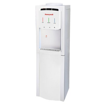 Freestanding Top-Loading Hot/Room/Cold Water Dispenser with Thermostat, White