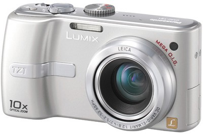 DMC-TZ1S Lumix 5 mega-pixel Digital Camera with 10x Optical Zoom (Silver)