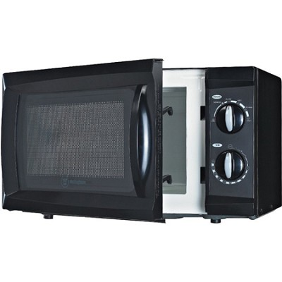 600W Counter Top Microwave Oven, 0.6 Cubic Feet, Black