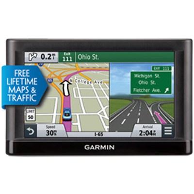 Nuvi 65LMT Essential Series GPS w Lifetime Maps, Traffic-Refurb 1 Year Warranty
