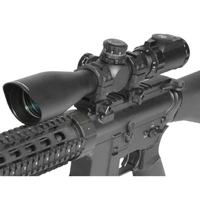 3-12X44 30mm Scope, AO, 36-color Mil-dot, w/ Rings - SCP3-U312AOIEW