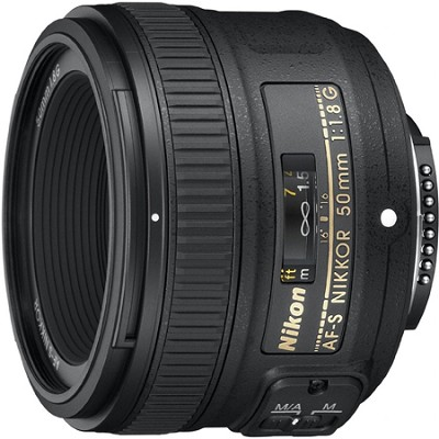 50mm f/1.8G AF-S NIKKOR Lens for Nikon Digital SLR Cameras
