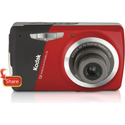 EasyShare M530 12 MP 2.7` LCD Digital Camera (Red)