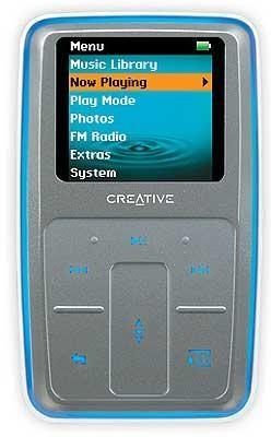 Zen Micro {Silver} 8GB PHOTO MP3 Player