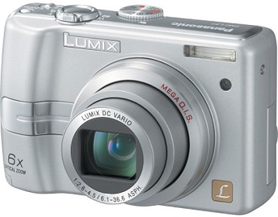 DMC-LZ7S (Silver) Lumix 7.2 Megapixel Digital Camera w/6x Optical Zoom, 2.5` LCD