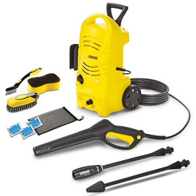 K 2.27 CCK Electric Pressure Washer & Car Care Kit
