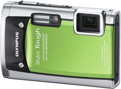 Stylus Tough 6020 Waterproof Shockproof Freezeproof Digital 14MP Camera (Green)