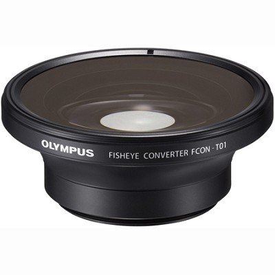 FCON-T01 Fisheye Converter for Olympus TG-1 & TG-2 (Black)