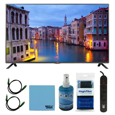 32LB5600 - 32-Inch Full HD 1080p LED HDTV Plus Hook-Up Bundle