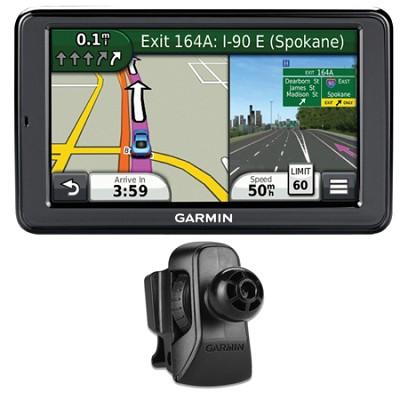 nuvi 2555LMT 5` GPS Navigation w/ Lifetime Map Updates Vent Mount Bundle