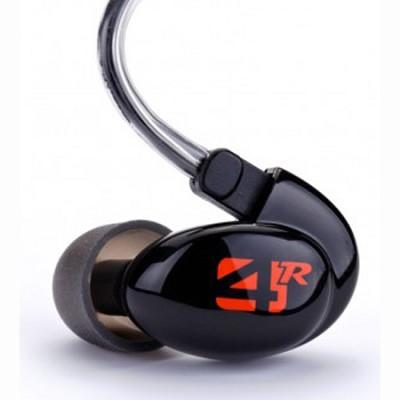 4R Series Quad-Driver Universal Fit Earphone w/ Removable Cable (Black)(79270)