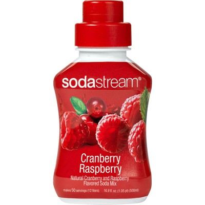 Fruit Syrup Specialty Flavor 500ml Cranberry Raspberry