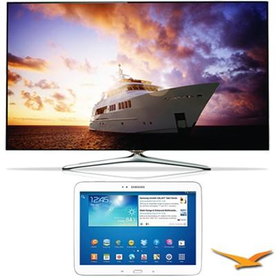 UN55F7500 - 55` 1080p 240hz 3D Smart Wifi LED HDTV - 10.1` Galaxy Tab 3 Bundle