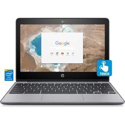 11-v020nr 11.6` HD Touchscreen Chromebook - Intel Celeron N3060 (OPEN BOX)
