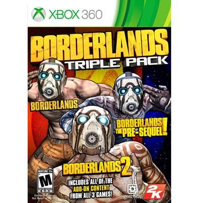Borderlands Triple Pack X360