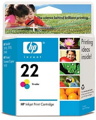 PS HP 22 Tri-color Inkjet Print Cartridge