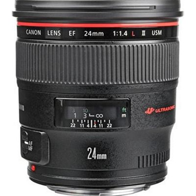 EF 24mm f/1.4L II USM Canon USA Warranty