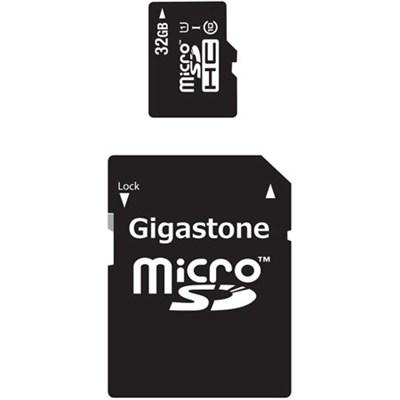 32GB Class 10 U1 MicroSD Memory card with SD Adapter