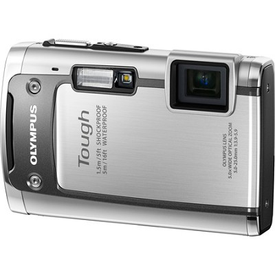 Tough TG-610 14MP Waterproof Shockproof Freezeproof- Silver - OPEN BOX