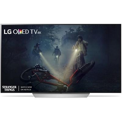 OLED55C7P - 55` C7P OLED 4K HDR Smart TV (2017 Model) - Refurbished