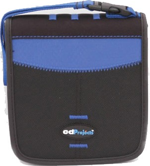 CDProjects Sports Case for 32 Compact Disks (Blue)
