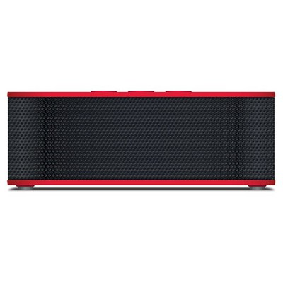 SoundBrick Plus NFC Bluetooth Portable Wireless Stereo Speaker - Red