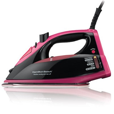 Electronic Control Iron Black/Pink