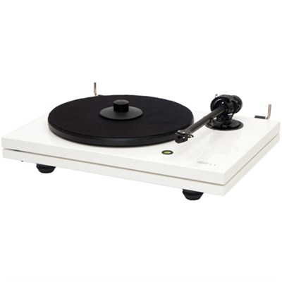 MMF-5.3WH 2-Speed Audiophile Turntable w/ Ortofon 2M Blue Cartridge - White