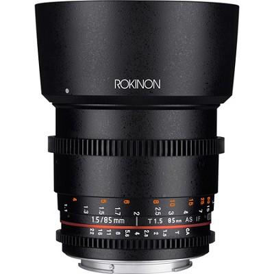 DS 85mm T1.5 Full Frame Cine Lens for Sony A Mount