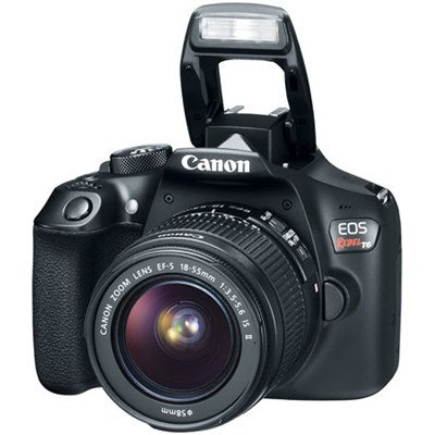 EOS Rebel T6 Digital SLR Camera with EF-S 18-55mm IS II Lens Kit