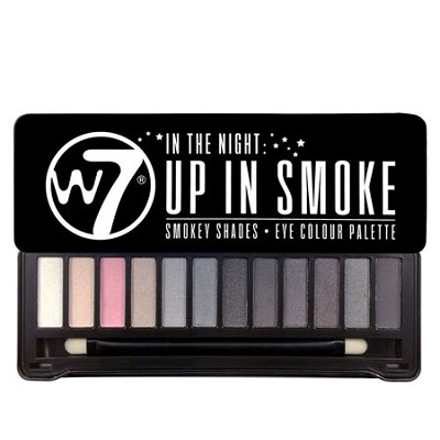 Up In Smoke Smokey Eye Shaddow Pallette 12 PC W/ Free Organic Brush