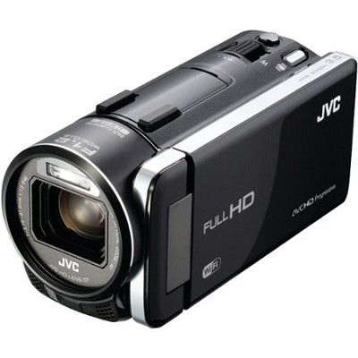 GZ-GX1BUS - HD Everio Camcorder 3.5` Touchscreen 10x Zoom f1.2  WiFi (Black)