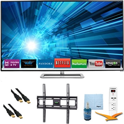 70-Inch 1080p 240Hz 3D LED Smart HDTV Plus Mount & Hook-Up Bundle - M701D-A3R