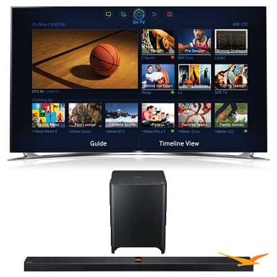 UN75F8000 75 inch 1080p 240hz 3D Smart Wifi TV + HW-F850 Soundbar Bundle